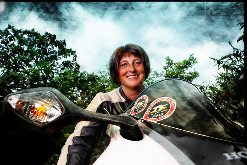 Ruth Sanderson - Honda Fireblade